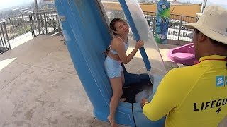 Aqua Loop Water Slide at Vana Nava Hua Hin Water Jungle