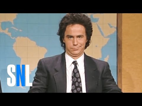 Weekend Update: Dennis Miller & Dennis Miller on Gary Hart - SNL