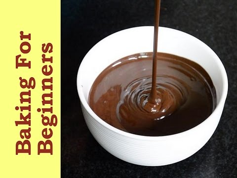 Easy Way Of Melting Chocolate Over The Stove-top! How To Melt Chocolate   Basic Tips  Cakes And More