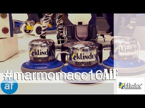 Klindex, produzione macchine levigatrici e lucidatrici professionali