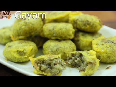 Video Cucur Kacang, Kesturi (Gayam)