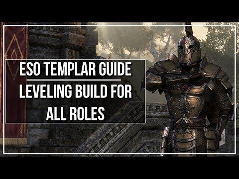 ESO Templar Leveling Build (All Roles) — Elder Scrolls Online