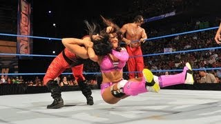 The Great Khali & Layla vs. Antonio Cesaro & Aksana: SmackDown July 3, 2012
