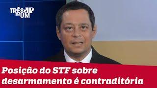 Jorge Serrão: Desarmamento tem inspiração clara e evidente de esquerda