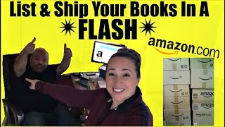 How We List And Ship Books To Amazon FBA  Reselling Books On Amazon   Accelerlist