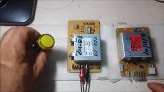 29- Teste placa electrolux  LQ LM LF na bancada