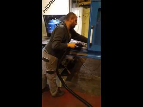 Cnc Metal Talaşı Emiş Videosu-Hidromek AŞ
