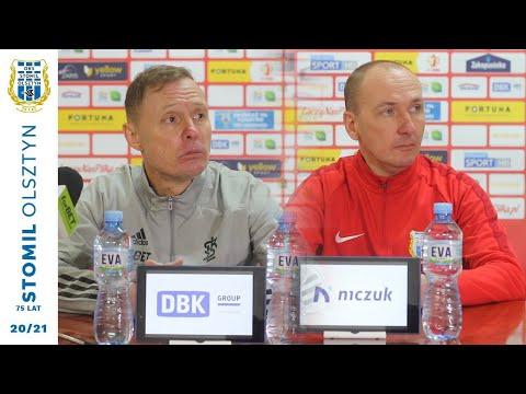 Wypowiedzi trenerów po meczu Stomil Olsztyn - ŁKS Łódź 0:2