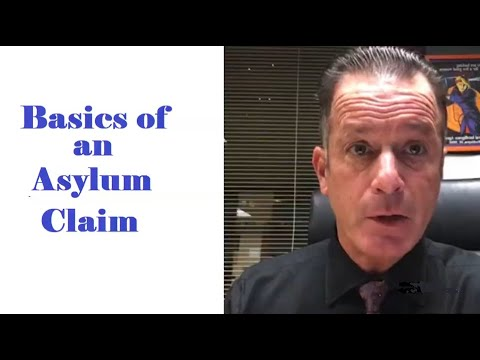 video thumbnail BASICS OF AN ASYLUM CLAIM