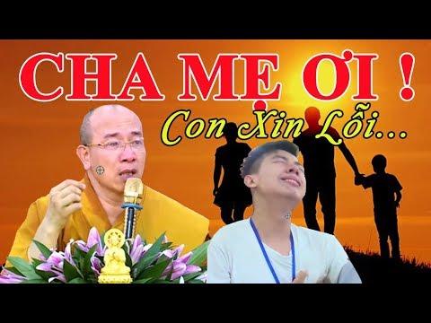 Xúc Động buổi giảng pháp về CHA MẸ của Thầy Thích Trúc Thái Minh khiến cả ngàn khóa sinh BẬT KHÓC