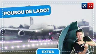 """O pouso """"DE LADO"""" do A380 foi arriscado? EP 563"""