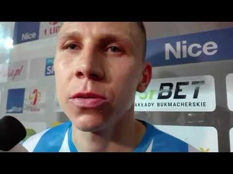 Karankiewicz po meczu Stomil Olsztyn - Olimpia Grudziądz