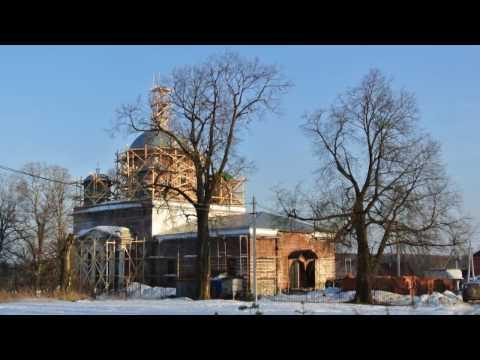 Молебен на всякое доброе дело. Успенский храм д. Подсосино.