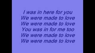 John Legend - Made to love [ lyrics on screen ]