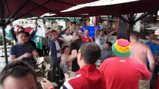 Wales newest (and best) chant #EURO2016