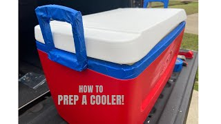 HOW TO PREP A COOLER! Fraternity Formal Painted Cooler Prep