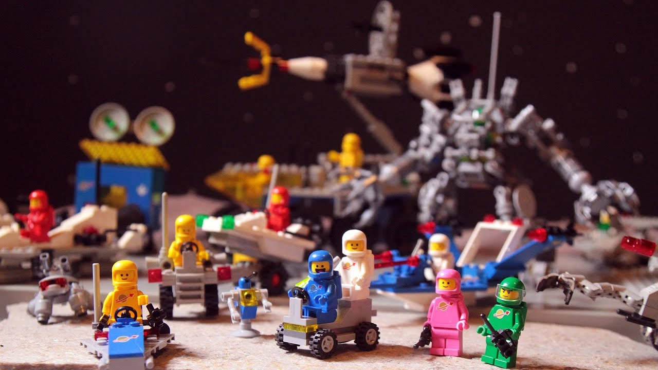 A galaxy full of awesome Lego spaceships