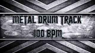 Metal Drum Track 100 BPM (HQ,HD)