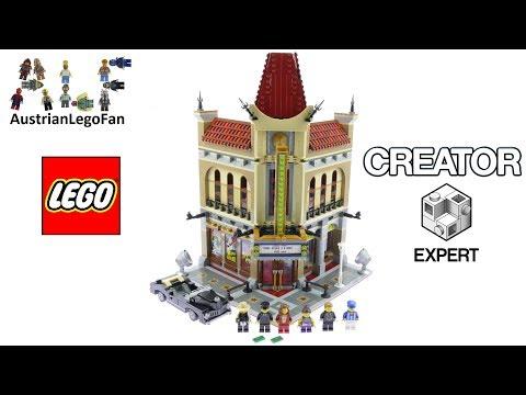 Vidéo LEGO Creator 10232 : Palace Cinema