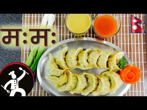 Video Nepali chicken MOMO / Dumplings | How to make MOMO | Taste of Nepal |  Nepali Food Recipe ???? 30