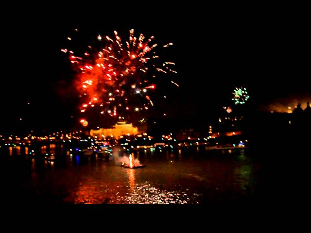 On new Years Eve, there is a spectacular firework that can be seen from the Charles Bridge in the center of the city. It is very crowded then, so be on time so you have a good place