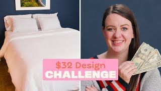 Style An Incredibly Cozy Bed For $32 | $32 Design Challenge | Apartment Therapy