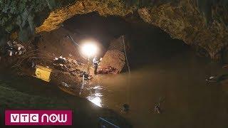 Thái Lan chặn suối trút nước vào hang Tham Luang   VTC9