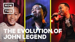 How John Legend Became a Legendary Musician | Evolution Of | NowThis