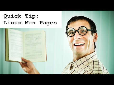 Linux Man Pages - A Quick Tutorial