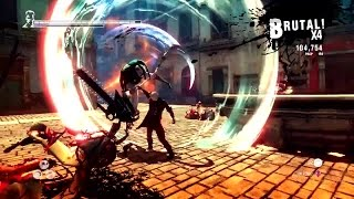 DmC: Devil May Cry Definitive Edition 60 FPS Gameplay Trailer