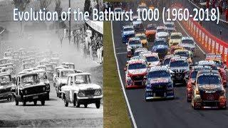 Evolution of the Bathurst 1000 (1960-2018)