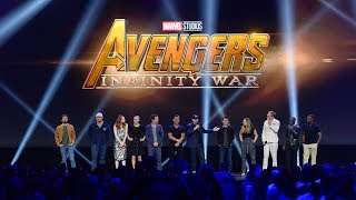Бенедикт Камбербэтч, HUGE Avengers: Infinity War cast gathering for Marvel panel at the D23 Expo 2017