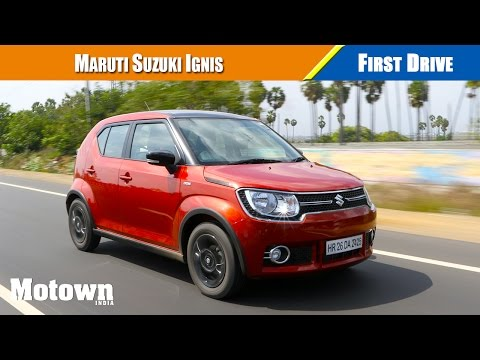 Maruti Suzuki Ignis review   First Drive   Motown India