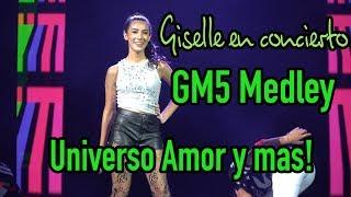 Giselle - GM5 Medley en VIVO! - Universo Amor, Mar del Caribe y Give me 5