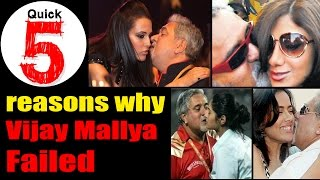 5 Reasons Why Vijay Mallya And Kingfisher Airlines Failed