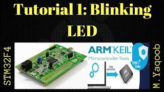 STM32F4 Discovery board - Keil 5 IDE with CubeMX: Tutorial 1 Blinking LED - Updated Oct 2017