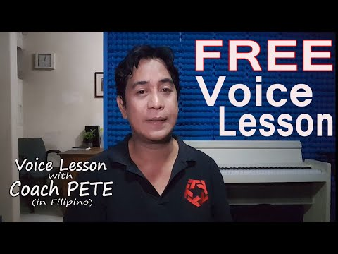 Free Voice Lesson
