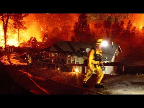 Καλιφόρνια: Ζέστη και κεραυνοί «πυροδοτούν» τις φωτιές…