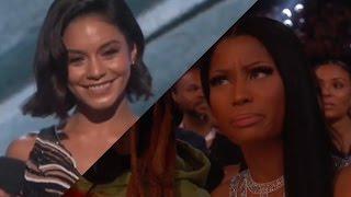 Gambar cover Nicki Minaj Throws Shade at Vanessa Hudgens during Drake's acceptance speech
