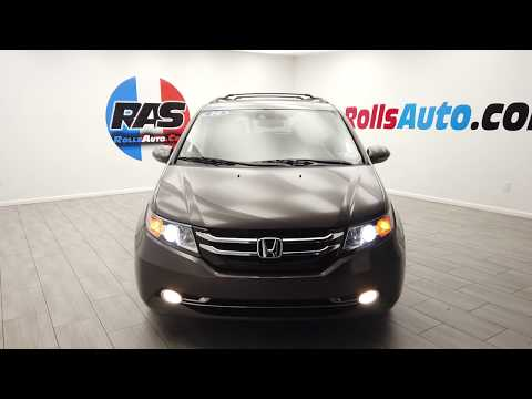 Pre-Owned 2014 Honda Odyssey Touring Elite