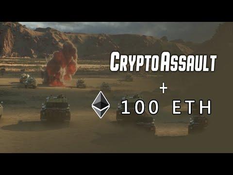 Ganhe 100 ETH (R$71,749) JOGANDO no Evento do Game Crypto Assault. Jogo Muito Top MMORPG !!! 🚁