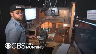 Inside Stoopid Buddy Stoodios, the stop motion animation house behind