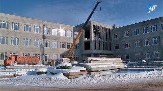 Создана рабочая группа по контролю за строительством школы в Псковском микрорайоне