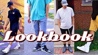 MENS FASHION LOOKBOOK! ADIDAS YEEZY - AIR JORDAN - CHAMPION - MITCHELL & NESS - SNEAKERHEAD OUTFITS