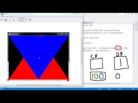 OpenGL glEnable Depth Test