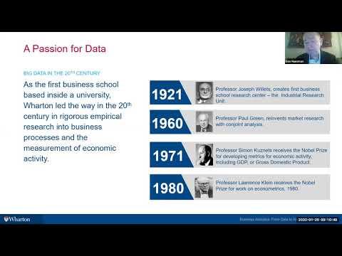 Business Analytics (Online) Program Webinar   Wharton   21-01-20 ...