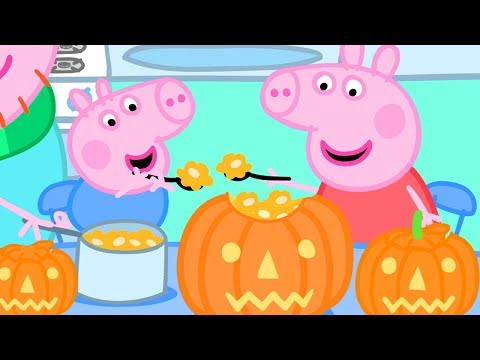 , title : 'Peppa Pig Official Channel 🎃 Making a Pumpkin Lantern with Peppa and George   Halloween Special 🎃