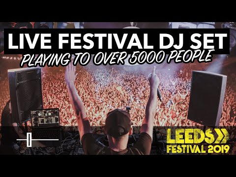 Playing to over 5000 people LIVE DJ SET by DJ Holland at Leeds Festival!