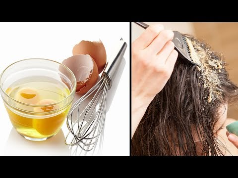4 Einfache Hausmittel für dickeres Haar!