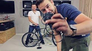 Przerobiłem rower na elektryczny